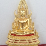 พระพุทธชินราช รุ่น 656 ปี บารมีเทพตาปะขาว หน้าตัก 5.9 นิ้ว เพื่อปฎิสังขรณ์วัดตาปะขาวหาย อายุครบ 656 ปี เนื้อทองเหลือง ลงรัก ปิดทองแท้ รหัส0150