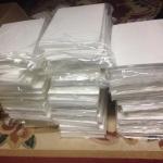 แผ่นเวเฟอร์เปล่า Wafer paper แบบหนา 10แผ่น