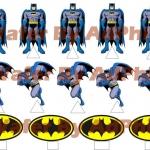 Wafer topper pop up batman 2