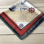 ผ้าพันคอ ผ้าคลุม ซาติน 70*70 ST05-021