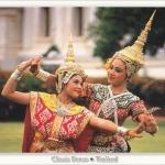 โปสการ์ด รำไทย /ศิลปะการแสดง/การแต่งกาย