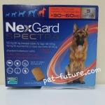 NexGard Spactra 30-60 kg. Exp.11/18 ป้องกันเห็บ หมัด พยาธิหนอนหัวใจ พยาธิทางเดินอาหาร