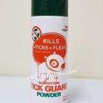 Tick Guard Powder สำหรับป้องกันและกำจัดเห็บหมัด แบบผง ปริมาณ 150 กรัม