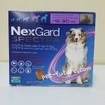NexGard Spactra 15-30 kg. Exp.11/18 ป้องกันเห็บ หมัด พยาธิหนอนหัวใจ พยาธิทางเดินอาหาร