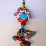 พวงกุญแจตุ๊กตานกฮูกพวงใหญ่ ขนาด 8 x 25 cm. 2