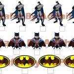 Wafer topper pop up batman 1