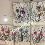 ผ้าพันคอ Pashmina พาสมีน่า Intrend แฟชั่น ลาย ดอกไม้ PS1060N