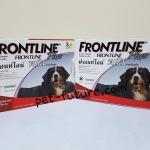 Frontline plus น้ำหนัก 40.1-60 kg. Exp.12/19 จำนวน 2 กล่อง จัดส่ง ฟรี