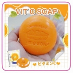 VIT C SOAP สบู่ส้มวิตซี ทรีแบรนด์