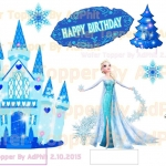 Wafer Topper Set Frozen