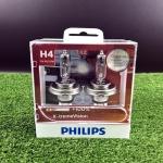 หลอดไฟอัพเกรด PHILIPS H4 X-treme Vision +100%