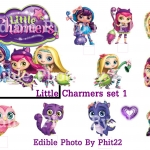 Little Charmers stand up topper set