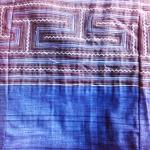 ย่ามผ้าฝ้าย กระเป๋าสะพายย่าม ลายสีน้ำเงิน 2