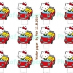 Wafer topper Kitty Stand up 5