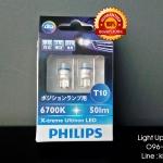 หลอดไฟหรี่ Philips LED 360องศา 6700K