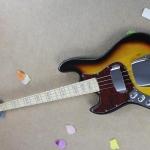 เบสไฟฟ้ามือซ้าย fender jazz bass left hand