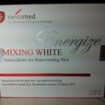 Mixing White Ennigize สูตรใหม่สีตัวยาชมพู ฉีดแล้วขาวใสอมชมพู