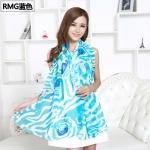 ผ้าพันคอ ชีฟอง Chiffon ผืนใหญ่ CF01026