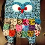 กระเป๋านกฮูก สะพายเป้ ใบใหญ่ขนาด Owl Bag 28 x 40 cm. 5