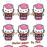 Wafer topper Kitty Stand up 2