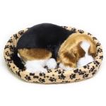 ตุ๊กตาสุนัขบีเกิลหลับ ขนาดจำลองเหมือนจริง ขนาด 22x28x10cm (Pre-Order)