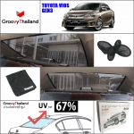TOYOTA VIOS Gen3 2013~Now R-row (1 pcs)