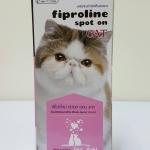 Fiproline spot on cats จำนวน 1 หลอด นผลิต 07/16 นับไป 3 ปีวันอหมดอายุค่ะ เปลี่ยนแพคเกจใหม่ค่ะ