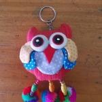 พวงกุญแจตุ๊กตานกฮูกพวงใหญ่ ขนาด 8 x 25 cm. 19