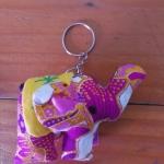 พวงกุญแจช้างน้อย ขนาด 6 x 7 ซม. 9