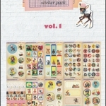(10แผ่น/ชุด) สติ๊กเกอร์แนววินเทจจากเกาหลี Vintage Lively Child Sticker Pack Vol.1