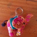 พวงกุญแจช้างน้อย ขนาด 6 x 7 ซม. 1
