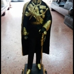 รูปหล่อรัชกาลที่5 ทองเหลืองปิดทองแท้ รหัส449
