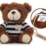 แบตเตอรี่สำรองตุ๊กตาหมี 10000 mAh