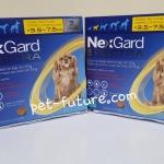 NexGard Spactra 3.5-7.5 kg. Exp.09/19 (จำนวน 2 กล่อง)