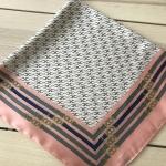 ผ้าพันคอ ผ้าคลุม ซาติน 70*70 ST05-051