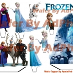 wafer stand up topper Frozen