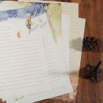 กระดาษเขียนจดหมาย Little Prince 8 แผ่น เซ็ทนี้ไม่มีซอง