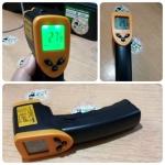 เทอร์โมมิเตอร์ อินฟาเรท Infrared IR digital Thermometer Temperature Laser Gun