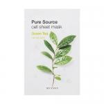 Missha Pure Source Cell Sheet Mask 21g #Green Tea