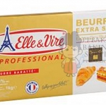 ELLE & VIRE EXTRA DRY BUTTER SHEET 84%