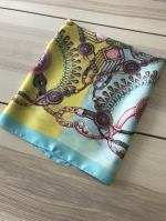 ผ้าพันคอ ผ้าคลุม ซาติน 70*70 ST05-014