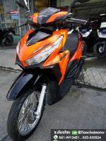 #ดาวน์3500 CLICK125i ปี60 สีส้มสวยจัด เครื่องแน่นเดิม ขับขี่เยี่ยม ราคา 34,000
