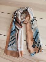 ผ้าพันคอ ผ้าคลุม ไหมญี่ปุ่น สกรีนลาย SJ01-014