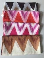ผ้าพันคอ ชีฟอง สกรีนลาย Chiffon CF01-059