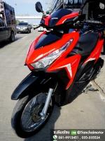 #ดาวน์4500 CLICK125i ปี60 สภาพสวยเดิม เครื่องดี สีแดงสด ขับขี่เยี่ยม ราคา 38,000