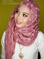 ผ้าคลุม อิสลาม ผ้าทุเรียน HJ14001