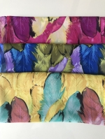 ผ้าพันคอ ชีฟอง สกรีนลาย Chiffon CF01-057
