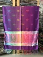 ผ้าพันคอ Pashmina พาสมีน่า ลาย ไทย PS02007T-1