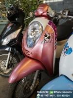 SCOOPY-I ปี53 สีชมพูสดใส เครื่องเดิมดี ลายน่ารัก ขับขี่ดี ราคา 20,000