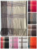ผ้าพันคอ Pashmina พาสมีน่า ลาย ไทย PS02012T สำเนา